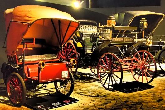 Diverse auto d'epoca al museo dell'Automobile di Torino © Jordan Lessona