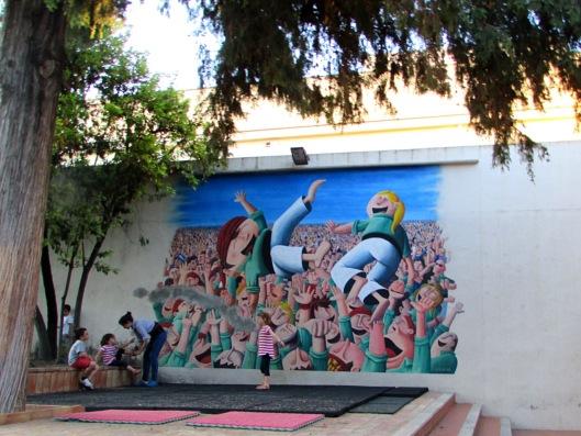 Murales della Torre Umana, Spagna © Jordan Lessona