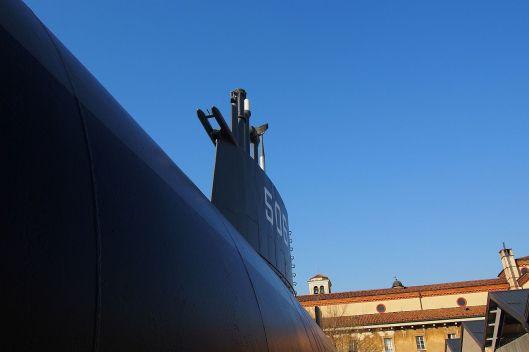 Sottomarino Enrico Toti al Museo della Scienza di Milano © Jordan Lessona