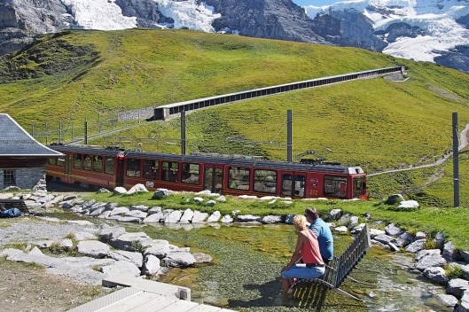 Trenino storico della Jungfrau © Jordan Lessona