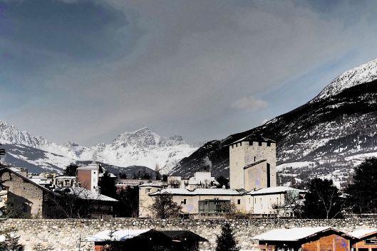 Le montagne intorno ad Aosta © Jordan Lessona
